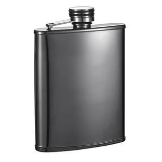 Visol Outlaw II Gunmetal Tall 6-ounce Liquor Flask