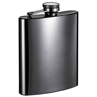 Visol Outlaw Gunmetal 8-ounce Liquor Flask