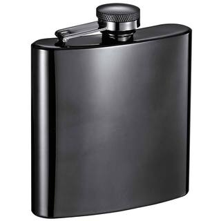 Visol Outlaw Gunmetal 6-ounce Liquor Flask