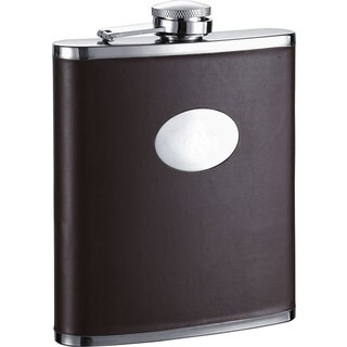Visol Devlin Dark Brown 18-ounce Liquor Flask