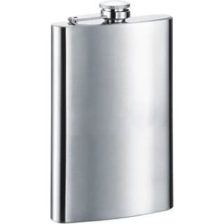 Visol Sangha Satin Stainless Steel 10-ounce Liquor Flask