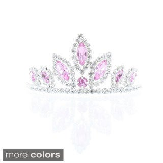 Kate Marie 'Ada' Rhinestone Crown Tiara Hair Pin