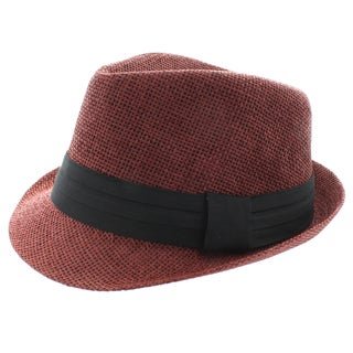 Faddism Solid Fashion Fedora Hat