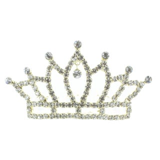 Kate Marie 'Abby' Rhinestone Crown Tiara Hair Pin