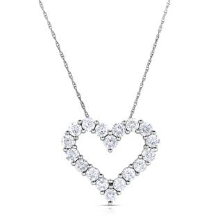 Eloquence 14k White Gold, 1/2ct TDW Diamond Heart Pendant|https://ak1.ostkcdn.com/images/products/10060438/P17205614.jpg?impolicy=medium