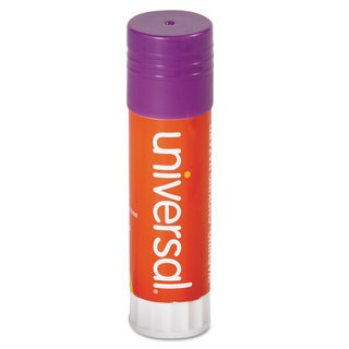 Universal 1.3 oz Purple Permanent Glue Sticks (Packs of 2)