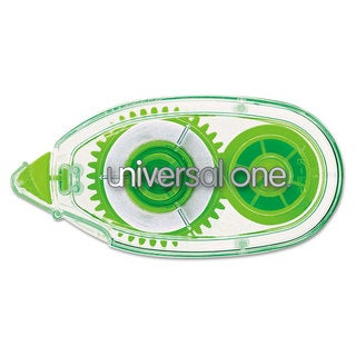 Universal Clear Permanent Glue Tape with Dispensers (Pack of 4)
