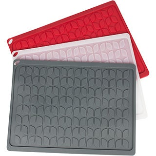 """Multi Purpose Silicone Drying Mat/Hot Pad- 13.5""""x10"""" available in 3 colors!"""