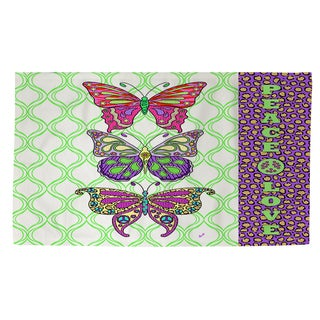 Thumbprintz Tween Butterfly Rug (2' x 3')