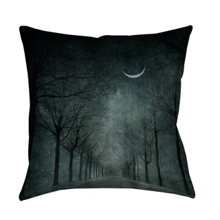 When the Moon is Tired Decorative Throw Pillow (Oversized - 26 x 26)