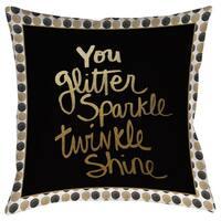 You Glitter Decorative Throw Pillow