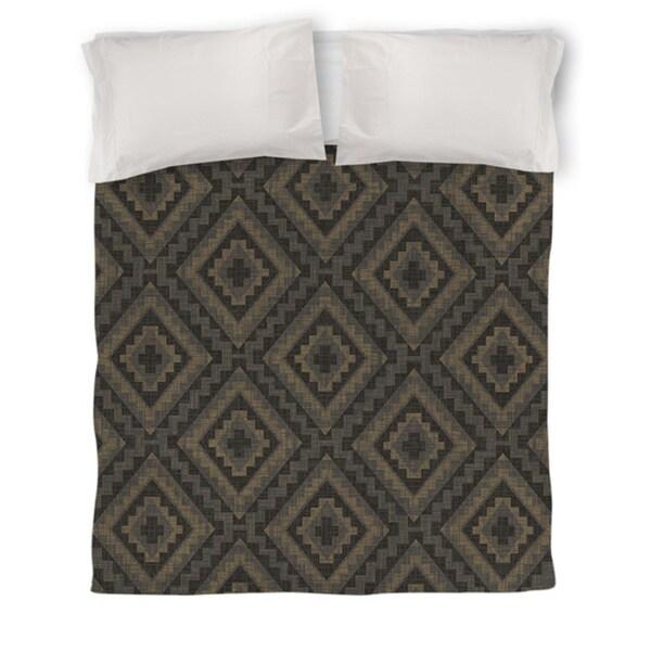 Winter Lodge Deer Pattern Duvet Cover
