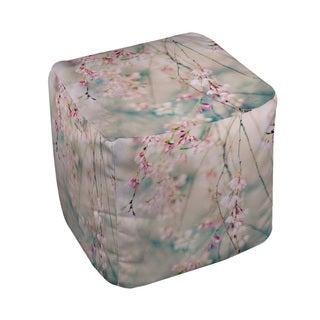Thumbprintz Weeping Cherry Blossoms Pouf