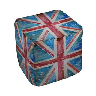 Thumbprintz Union Jack Pouf