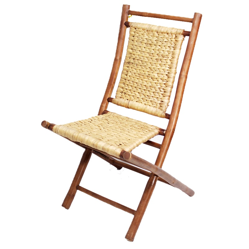 Heather Ann Bamboo Folding Chairs Set Of 2