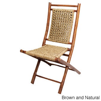 Charmant Heather Ann Bamboo Folding Chairs (Set Of 2)