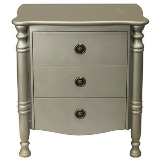 Casa Cortes Atelier Collection Solid Wood Side Chest Nightstand