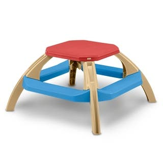 American Plastic Toys Kid's Picnic Table|https://ak1.ostkcdn.com/images/products/10060700/P17205844.jpg?impolicy=medium