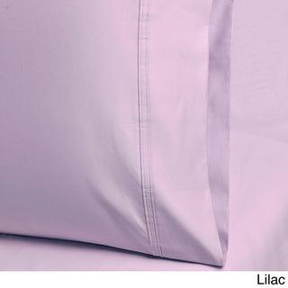 Superior 1000 Thread Count Cotton Deep Pocket Solid Sheet Set