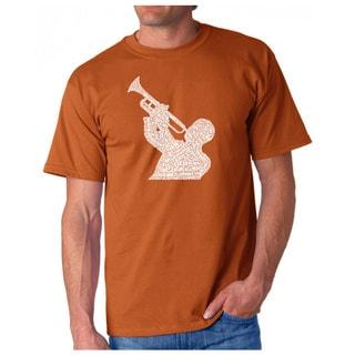 LA Pop Art Men's Jazz Greatest Hits T-Shirt