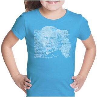 LA Pop Art Girls Mark Twain T-Shirt (More options available)