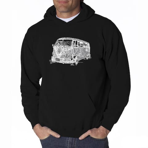 LA Pop Art Men's The 70's Hooded Sweatshirt