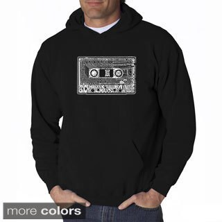 LA Pop Art Men's The 80's Hooded Sweatshirt