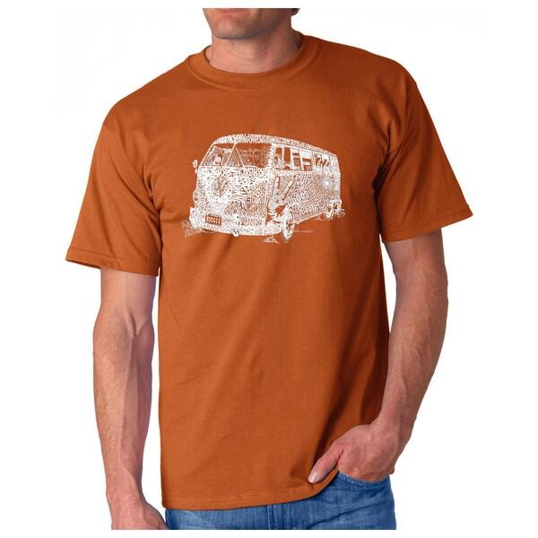 LA Pop Art Mens The 70s T-Shirt by  Best