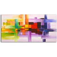 Derivitives of Color' Original Oil Painting on Canvas