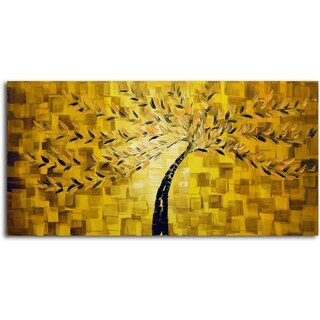 Textured Tree' Original Oil Painting on Canvas