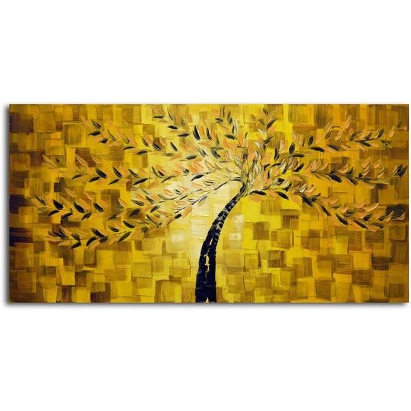 Textured Tree' Original Oil Painting on Canvas