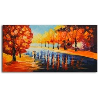 Autumn Paradise' Original Oil Painting on Canvas