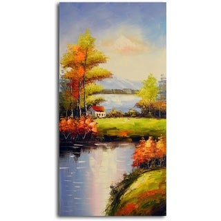 Peaceful Solitude' Original Oil Painting on Canvas
