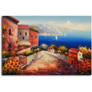 Mediterranean Morning' Original Oil Painting on Canvas