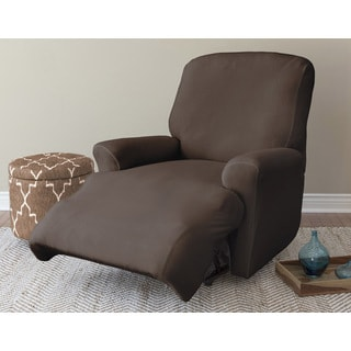 Velvet Shiloh Luxury Home Collection 1-piece Stretch Recliner Slipcover