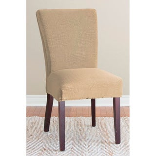 QuickCover Sydney Velvet Collection 1-piece Dining Chair Slipcover Collection