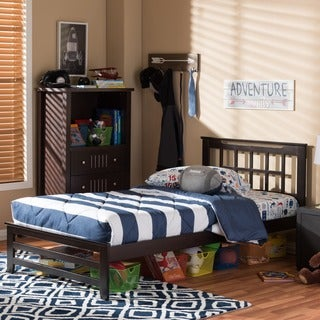 Aperta Wood Contemporary Full/Twin-Size Bed