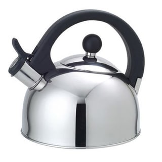 Stainless Steel 2.5-liter Whistling Tea Kettle