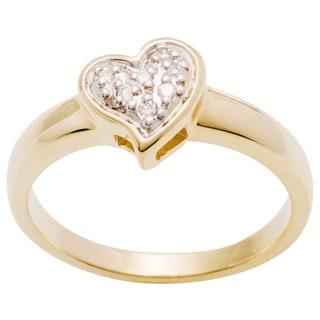 10k Yellow Gold Diamond Ring (H-I, I1-I2)