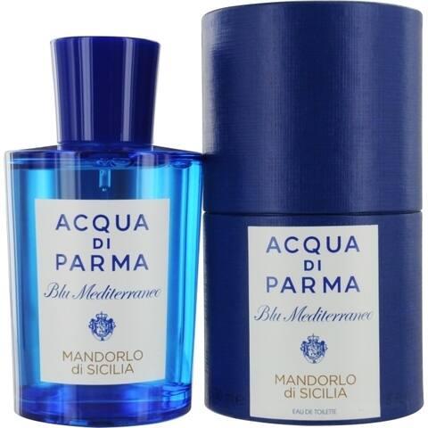 Acqua Di Parma Blue Mediterraneo Mens 5-ounce Mandorlo Di Sicilia Eau de Toilette Spray