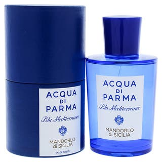 Acqua Di Parma Blue Mediterraneo Mens 5-ounce Mandorlo Di Sicilia Eau de Toilette Spray|https://ak1.ostkcdn.com/images/products/10061888/P17206910.jpg?impolicy=medium