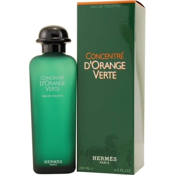 Hermes D Orange Vert Concentre Men S 6 5 Ounce Eau De