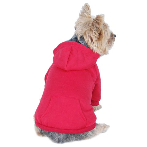 ANIMA Cotton Pullover Hoodie Sweatshirt for Pets