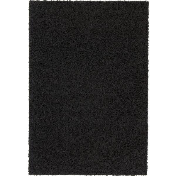 solid black area rugs interior design