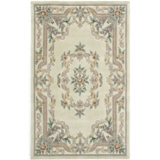 Heritage Floral Ivory Area Rug (4' x 6')