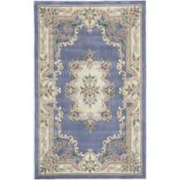 Iona Hand-Tufted Wool Oriental Area Rug (4' x 6') - 4' x 6'