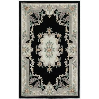 Easton Hand-Tufted Wool Oriental Area Rug (48 x 72) - 4' x 6'