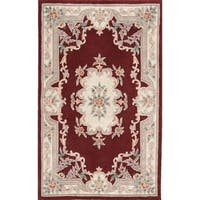 Bergen Hand-Tufted Wool Oriental Area Rug (4' x 6') - 4' x 6'