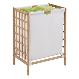 Honey Can Do HMP-03770 Knockdown Bamboo Hamper