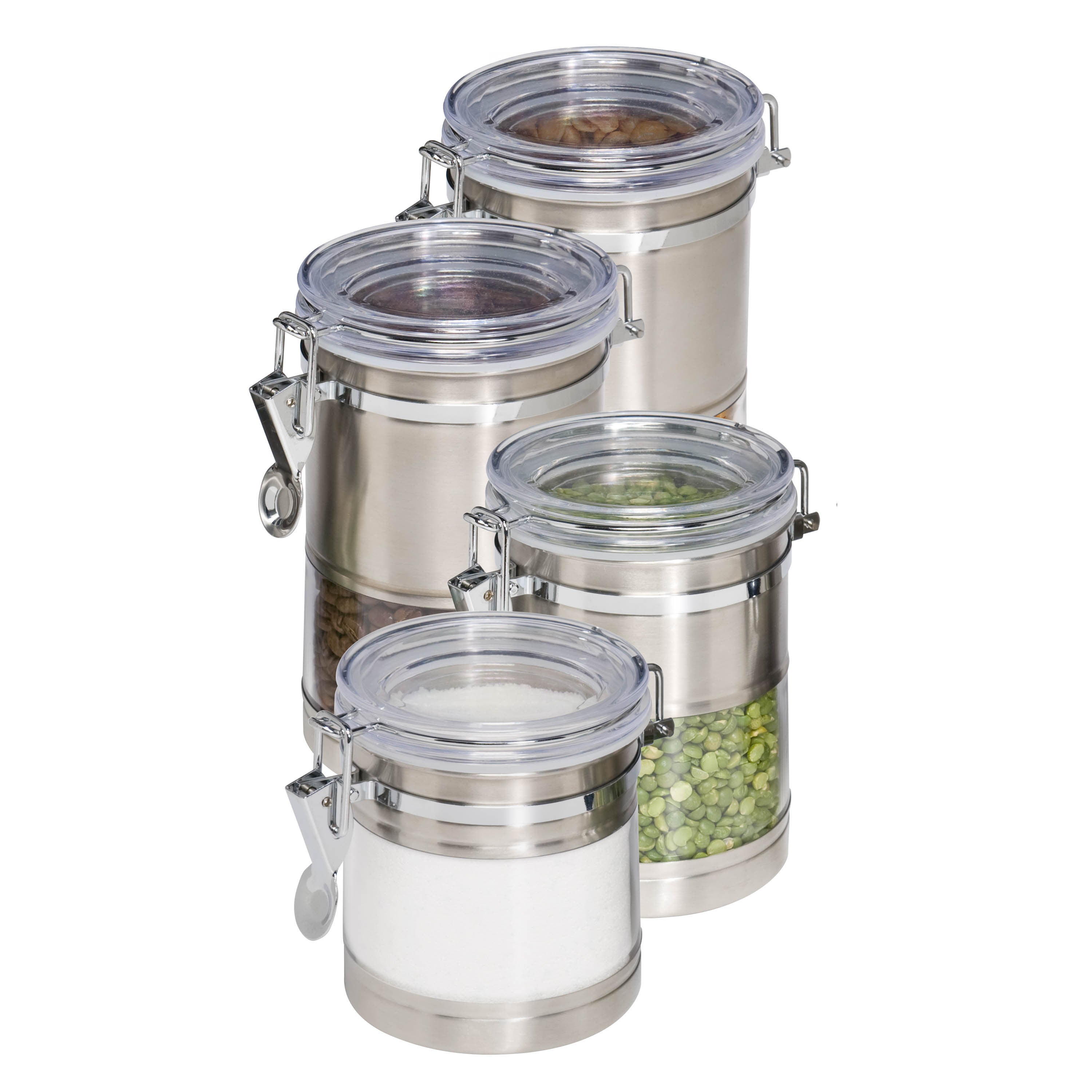 Honey-Can-Do KCH-01310 Stainless Steel (Silver) and Acryl...